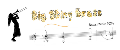 Big Shiny Brass - brass music PDFs
