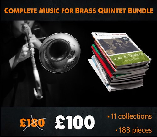 Complete Brass Quintet Music Bundle