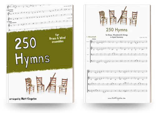 250 Hymns for Brass & Wind